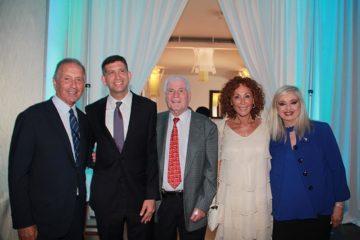 From left to right Uri Elkayam MD, Sam Grundwerg, Honorable Consul General of Israel, Yzhar Charuzi MD, Batia Elkayam, Sarit Finkelstein-Boim