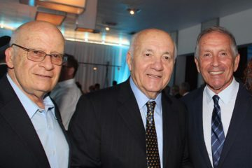 From left to right Ilan Tamir MD, Arieh Shawartz, MD, Uri Elkayam MD