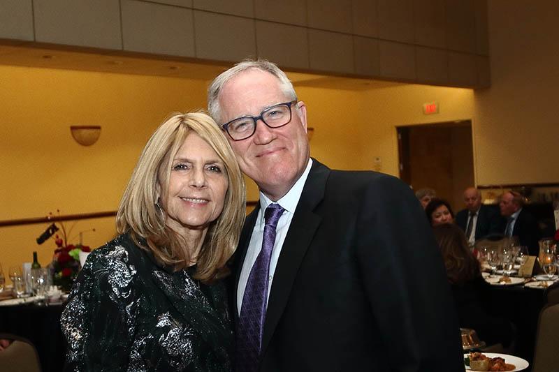 Helen Lepor and Dr. Norman Lepor